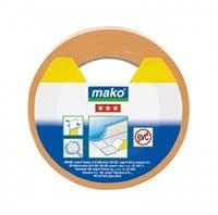 Скотч MAKO для напольных покрытий, полипропилен 25мх50мм 831725
