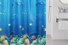 Шторки для ванной: выбираем правильно