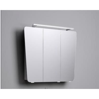 Зеркало для ванной комнаты AQWELLA Simphony 80 B8 sim.04.08/w белый - фото 10466