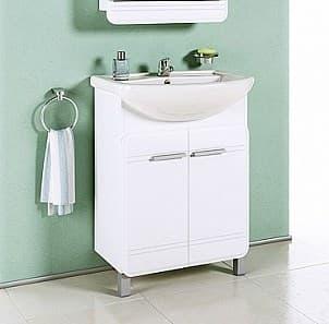 Тумба для ванной комнаты AQWELLA Корсика 65 Т6 с раковиной Kor.01.06 - фото 10536