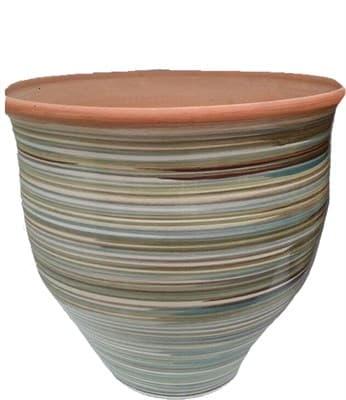 Горшок керамический 35л лощенка 9050 - фото 11007