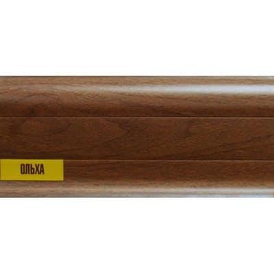 Плинтус К55 2,5м Идеал Комфорт 341/ольха - фото 12114