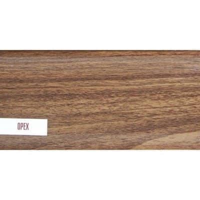 Плинтус Е67 Идеал Элит 2,5м 291/орех - фото 12137