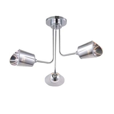 Светильник потолочный ESCADA 548/3 E27*40W Chrome - фото 40637