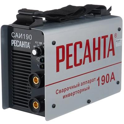 Аппарат сварочный РЕСАНТА инверторный Machine САИ/ARC 190 - фото 41212