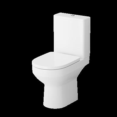 Унитаз-компакт AM.PM Spirit FlashClean с сиденьем микролифт C708600SC - фото 45543