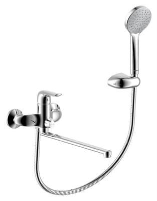 Смеситель AM.PM для ванны/душа PALACE ONE с универс.изливом 350 мм, ручным душем 41950000/419500064 - фото 4946