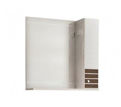 Зеркало для ванной комнаты ИМПЕРИАЛ 85 (R) венге с подсветкой Andrea - фото 5105