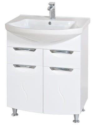Тумба для ванной комнаты 05GL0265 (H) с умывальником - фото 5141