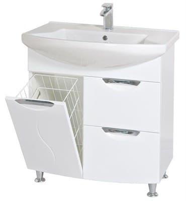 Тумба для ванной комнаты 05GL75 (H) с умывальником - фото 5142