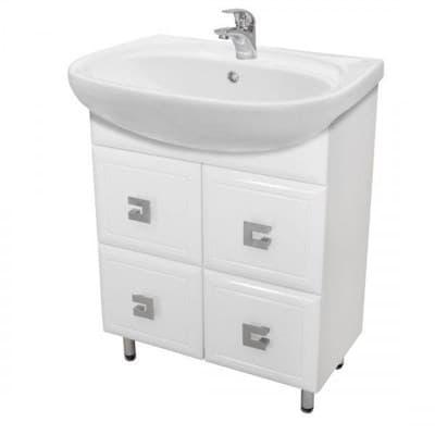Тумба для ванной комнаты МОБИС 65 с умывальником - фото 5154