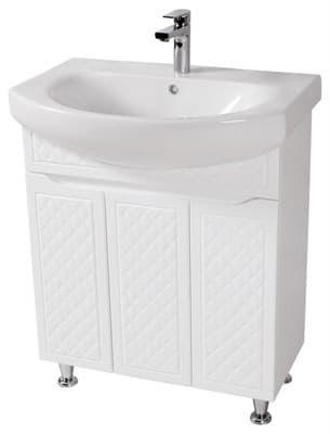 Тумба для ванной комнаты РОДОРС 70 с умывальником - фото 5158