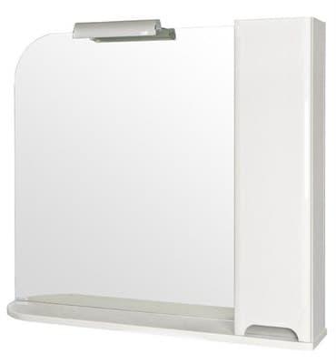 Зеркало для ванной комнаты BOSTON 95 (R) с подсветкой - фото 5174