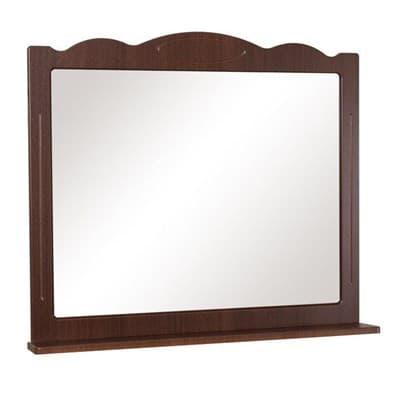 Зеркало для ванной комнаты КЛАССИК 100 орех итальянский - фото 5190