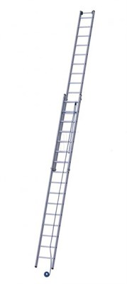 Лестница двухсекционная VIRA НВ 500 2*20 5240220/5220220 - фото 51959