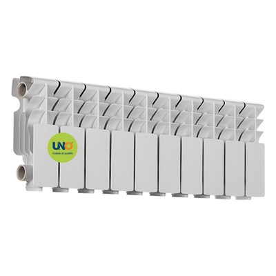 Радиатор аллюминиевый UNO-COMPACTO 200/100 (10секц) - фото 54251