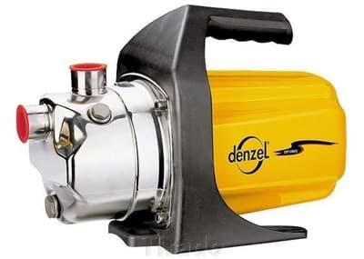 Насос садовый Denzel поверхностный GP1000X 1000вт, 3500л/ч подьем 44м нержавейка 97202 - фото 5575