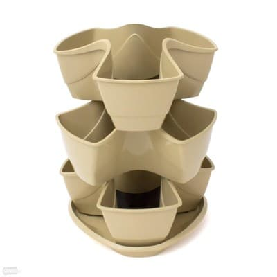Горшок цветочный COUBI кофе с молоком DKN300W-7502U - фото 5928