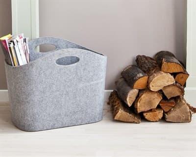 Корзина для дров фетровая 339503 - фото 5975