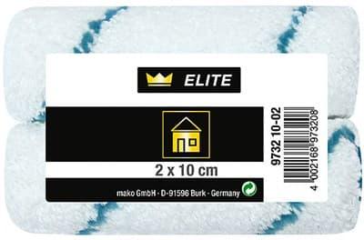 Валик MAKO сменный Mikrofa10см для рукоятки 6мм в пакете 2 шт. высота ворса 9мм 973210-02 - фото 6048