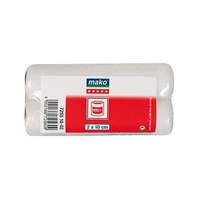 Валик MAKO сменный пена-полиэстер (для рукоятки 6мм)10см* 2 шт в пакете 725510-02 - фото 6067