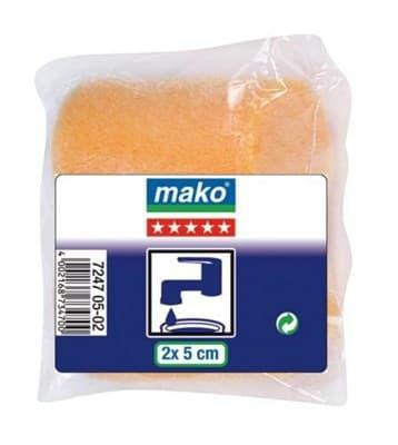 Валик MAKO сменный пена-полиэстер флокированный 5см для рукоятки 6мм, 2 шт в пакете 724705-02 - фото 6069