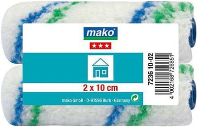 Валик MAKO сменный полиэстер (для рукоятки 6мм) 10см 2 шт в пакете 723610-02/723611-02 - фото 6074