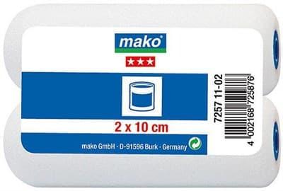 Валик МАКО сменный пена-полиэстер mako poren superfein 10см в пакете 2-шт 725711-02 - фото 6101