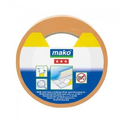 Скотч MAKO для напольных покрытий, полипропилен 10мх50мм 831710 - фото 6439