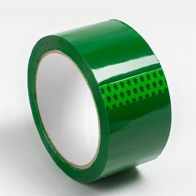Скотч цветной упаковочный 47 мик*48мм*50м (зеленый) - фото 6484