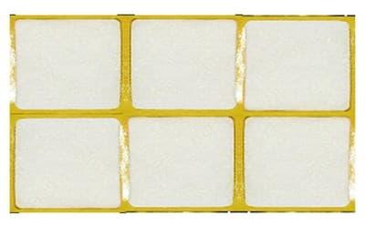 Пункт СТРОЙБАТ фетр.самокл. 25х50 белый (6шт) Element 12320/5750666 - фото 6658