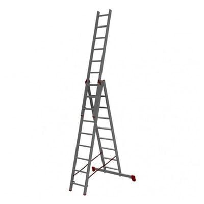 Лестница трехсекционная NV200 VIRA 3*13 в упаковке 2230313/600313 - фото 6706