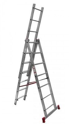 Лестница трехсекционная VIRA НВ 3*6 1230306К/600306/2230306 - фото 6708