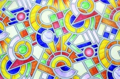 Пленка DELFA оконная статическая S4522 - фото 6849
