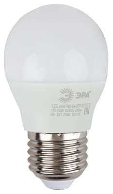Лампа светодиодная ЭРА LED smd P45-6w-840-E27 ECO 4000К 6560 - фото 9044