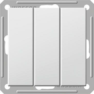 Выключатель WESSEN W59 VS0516-351-1-86 скр.уст. 3-кл б/рамки (250В,16А) - фото 9092