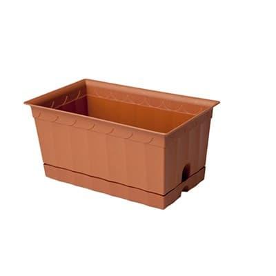 Ящик для цветов 20см арт.119 - фото 9639