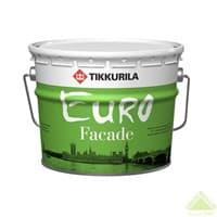 Краска фасадная EURO FACADEKA 9л