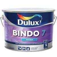 Краска водоэмульсионная Dulux BINDO 7 мат. белый 9л 5183739