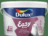 Краска водоэмульсионная Dulux Easy мвтовая 10л 5183564