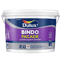 Краска водоэмульсионная Dulux Bindo Facade база C  9л 5258990