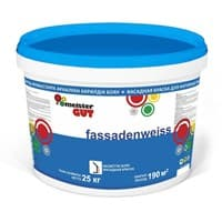 Краска KAIZER водоэмульсионная фасадная Fassadenweiss MG 25кг
