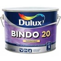 Краска водоэмульсионная Dulux BINDO 20 белая BW 2,5л 5183763