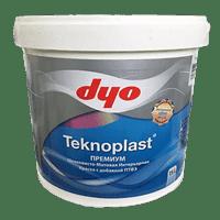 Краска водоэмульсионная DYO TEKNOPLAST шелковисто-мат. 2,5л