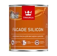 Краска фасадная Facade Silicon VVA мат. 0,9л 72121-06