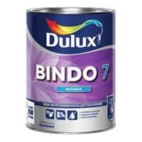 Краска водоэмульсионная Dulux BINDO 7 мат. белый 1л 5183733