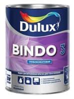 Краска водоэмульсионная Dulux BINDO 3 мат. белый 1л 5183722