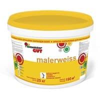 Краска KAIZER водоэмульсионная Malerweiss внутренняя моющаяся MG 4кг