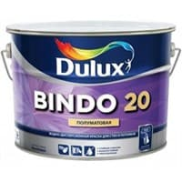 Краска водоэмульсионная Dulux BINDO 20 белая BW 1л 5183761