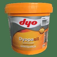 Краска водоэмульсионная DYOPASIL матовая моющаяся белая, 20кг